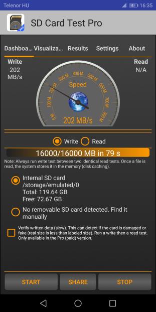 Huawei Mate 10 Pro performance (WiFi, internal storage) | PZolee's blog